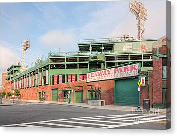 Fenway Park I Canvas Print by Clarence Holmes
