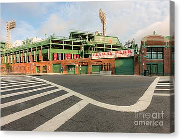 Fenway Park II Canvas Print by Clarence Holmes