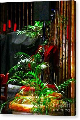 Ferned Joy Canvas Print by John  Kolenberg
