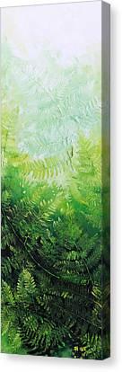 Ferns 2 Canvas Print by Hanne Lore Koehler