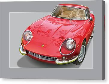 Ferrari 275 Gtb 4 Canvas Print