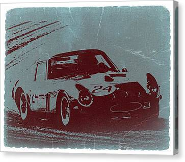 Gto Canvas Print - Ferrari Gto by Naxart Studio