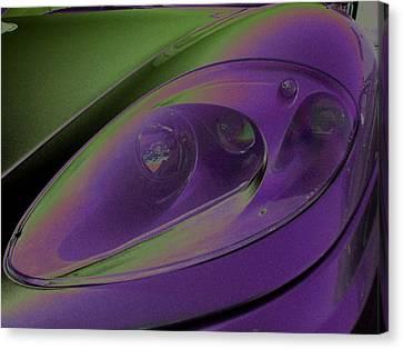 Ferrari Light Canvas Print by Carolina Liechtenstein