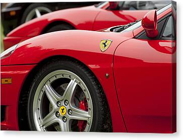 Ferraris 5 Canvas Print by Jill Reger