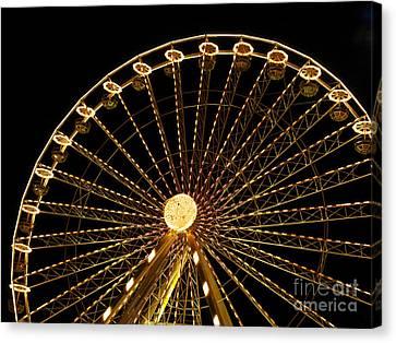 Ferris Wheel Canvas Print by Bernard Jaubert