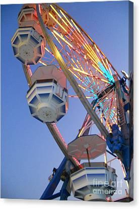 Ferris Wheel Fun Canvas Print by Clint Day
