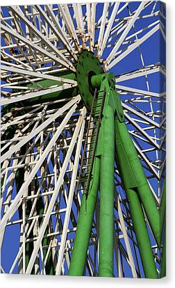 Ferris Wheel  Canvas Print by Stelios Kleanthous
