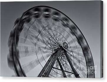 Ferris Wheel V Canvas Print by Clarence Holmes