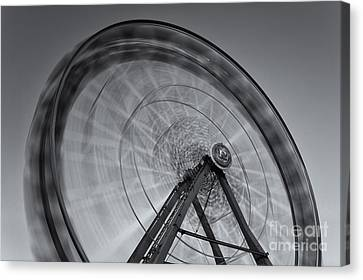 Ferris Wheel Viii Canvas Print by Clarence Holmes
