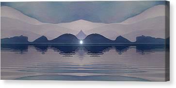 Fertile Hills Canvas Print by Susan  Solak