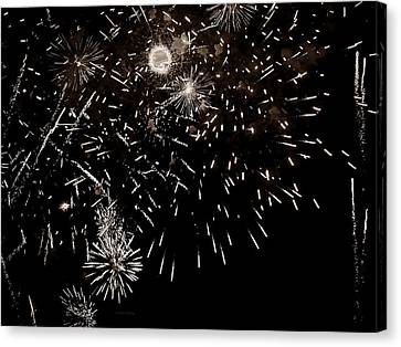 Festival Display  Canvas Print by Chris Berry
