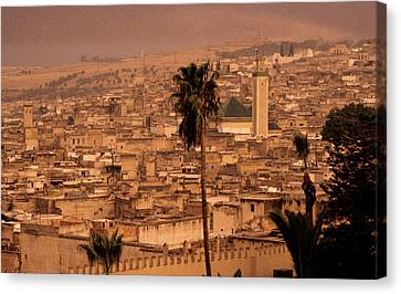 Canvas Print featuring the photograph Fez by David Harding