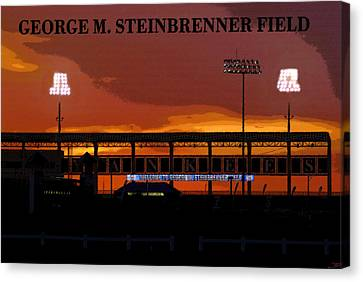 Field Of Dreams Canvas Print by David Lee Thompson
