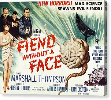Fiend Without A Face, 1958 Canvas Print by Everett