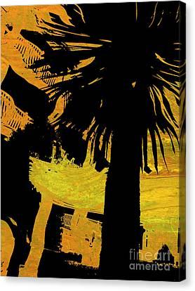 Fiery Night Canvas Print