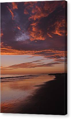 Fiery Skies Canvas Print
