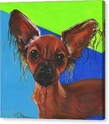 Fifi Canvas Print by Debbie Brown