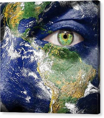 Fight For A Better World  Canvas Print by Semmick Photo