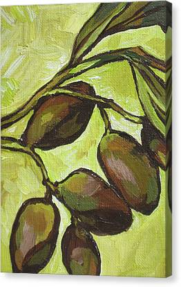 Figs Canvas Print by Sandy Tracey