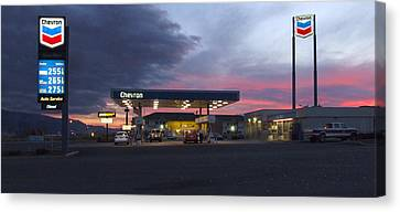 Filler Up Canvas Print by Mike McGlothlen