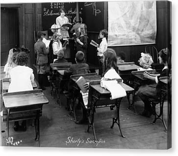 Film Still: Classroom Canvas Print by Granger