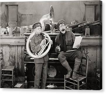 Tubist Canvas Print - Film: The Better Ole, 1926 by Granger
