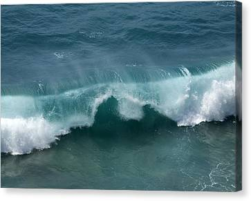 Final Collapse Of A Wave Canvas Print by Gregory Scott