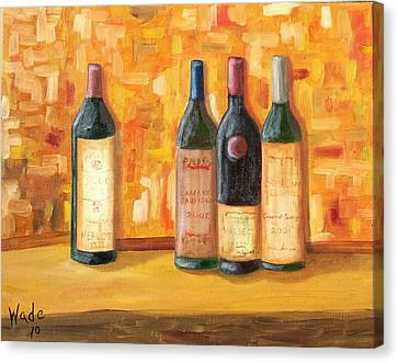 Fine Wine Selection Canvas Print by Craig Wade