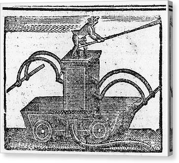 Fire Engine, 1769 Canvas Print by Granger