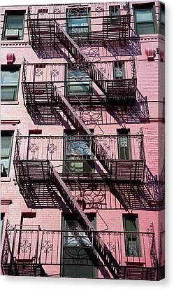 Fire Escape Canvas Print by Axiom Photographic