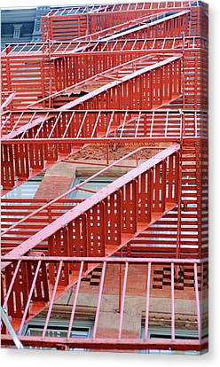Fire Escape Canvas Print by Copyright Eric Reichbaum