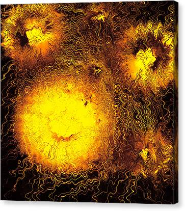 Fire Explosions Canvas Print by Hans Engbers