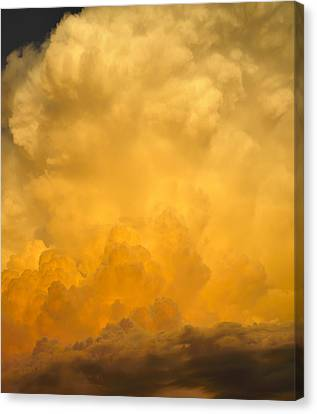 Fire In The Sky Fsp Canvas Print by Jim Brage