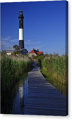 Fire Island Reflection Canvas Print by Rick Berk