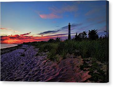 Fire Island Sunrise Canvas Print