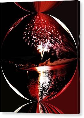 Fireball Lake Canvas Print