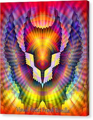Firebird Canvas Print by Visual Artist  Frank Bonilla