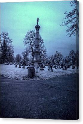 Firemans Monument Infrared Canvas Print by Joshua House