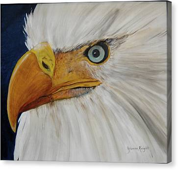 Firemen's Eagle Canvas Print