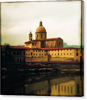 Firenze A Piedi Canvas Print by Li   van Saathoff