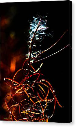 Fireweed Canvas Print by Mitch Shindelbower