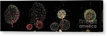 Firework Lifecycle 3 Canvas Print by Meandering Photography