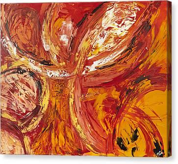 Firework Canvas Print by Thomas Kleiner