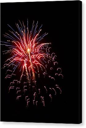 Fireworks 2 Canvas Print by Tanya Moody