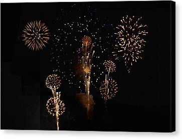 Fireworks Canvas Print by Bill Cannon