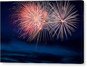 Fireworks Canvas Print by Ivan SABO