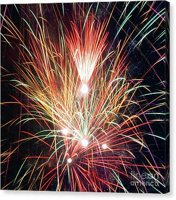Fireworks One Canvas Print