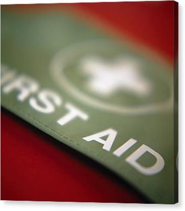 First Aid Armband Canvas Print