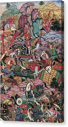 Descendant Canvas Print - First Battle Of Panipat, 1526 by Photo Researchers