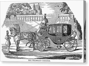 First Lady Carriage, 1851 Canvas Print by Granger